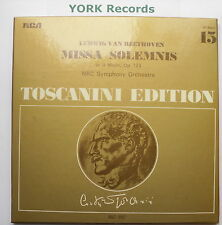 AT 200 - BEETHOVEN - Missa Solemnis TOSCANINI NBC SO - Ex Con 2 LP Record Set