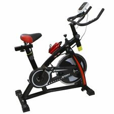 Stationary Exercise Bicycle Indoor Bike Cycling Cardio Health Workout Fitness y5