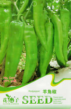 30 Original Pack Seeds Clevis Shape Pepper Seeds Chilli Capsicum Organic C077
