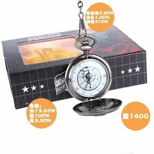 Cool! Fullmetal Alchemist Colonel Roy Mustang Edward Elric Cosplay pocket watch