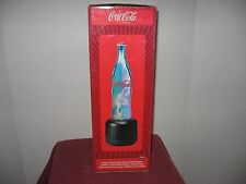 Coca Cola Electroplasma bottle lamp light Coke rare hard to find collectible