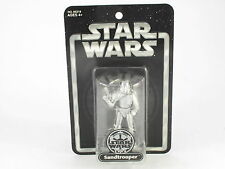Star Wars Sandtrooper Silver Anniversary MOSC New Action Figure 2004