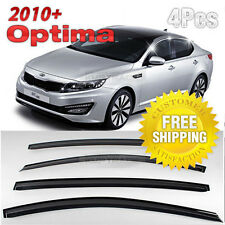 Smoke Window Rain Guards Vent Visors Sun Shield For KIA 2011-2015 Optima / K5