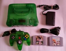 Nintendo 64 Launch Edition Jungle Green Console