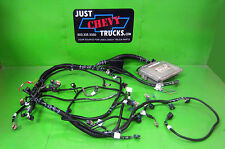 Chevy GMC 8.1 496 Complete Stand Alone EFI Engine Wire Harness & ECM Allison TCM