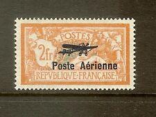 """FRANCE STAMP TIMBRE AERIEN N°1a""""VARIETE COIN DE L'ECUSSON CASSE"""" NEUF x TB SIGNE"""