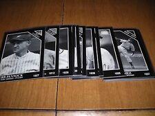 1992 Conlon Collection, Baseball card lot, (15 cards), Wood, Feller, Dugan, +, e