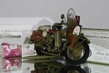 Franklin Mint 1:10 1942 Harley Davidson WLA Warhorse B11YE38  w COA No Box SJ LD