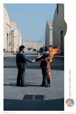 PINK FLOYD - WISH YOU WERE HERE POSTER - 24x36 SHRINK WRAPPED MAN ON FIRE 24476