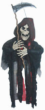 Small Hanging Grim Reaper Skeleton Halloween Prop Decoration NEW