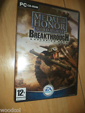 Medal of Honor Allied Assault: Breakthrough Expansion Pack  no instructions pc
