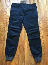 Kith NYC Classic Mercer Jogger Pants Navy Grey Ronnie Fieg RF Mens Size 32