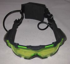 SVG Spy Gear Night Vision Goggles Glasses 2002 Wild Planet Toys TESTED WORKING