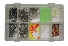 Tronix Pro Rig Makers Box with Swivels, Links, Crimps, Beads & Sequins