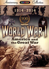 World War I: America & The Great War, New DVD, Woodrow Wilson, The Red Baron, Ge