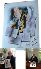 Nick Leeson SIGNED AUTOGRAPH Only One Rogue Trader AFTAL UACC RD