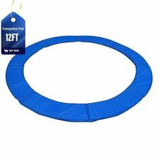 NEW 12FT REPLACEMENT PVC TRAMPOLINE SAFETY SPRING COVER PADDING PAD MAT