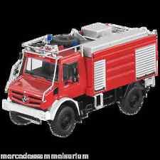 Mercedes Benz Unimog U 5023 Pompier 1:50 Nouveau NZG EMBALLAGE D'ORIGINE