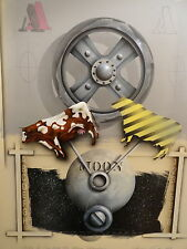 "James Carter ""Cow Over The Moon Machine"" Airbrushed Painting Art"