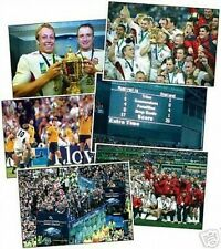 England Rugby World Cup Winners Colour POSTCARD SET