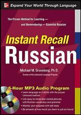 Instant Recall Russian, 6-Hour MP3 Audio Program, Russian, Words & Language, Eur