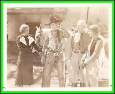 """BETH MARION & KEN MAYNARD in """"Avenging Waters"""" Original Vintage Photo 1936"""