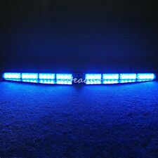 Emergency Led Warning Strobe Visor Light Split Mount Deck Dash 32 LED Lightbar