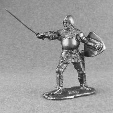 Medieval 1/32 French Knight Jean De Créquy Tin Army Miniature Toy Soldiers 54mm