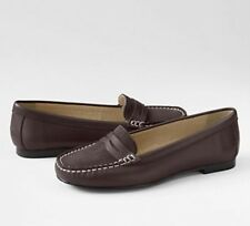 Lands' End- Kate Penny Loafer Moc Shoes Women's 5.5 NIB $50