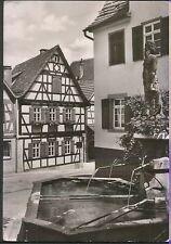 Alte Postkarte - Marbach am Neckar - Schillers Geburtshaus