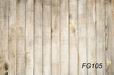 Wood Wall Floor vinyl photography Backdrop Background studio props 5X3FT FG105