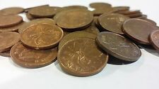 FULL ROLL 1981 CANADA ONE CENT PENNIES CIRCULATED