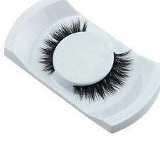 Bon Cils 3D naturel Croix faux cils Épais  de Vison en Cheveux Pour Maquillage