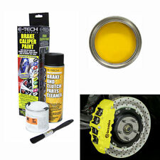 E-Tech Yellow Brake Caliper Paint Kit - Engine Bay Brakes Paint Manifold Etech