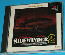 Sidewinder 2 - Sony Playstation - PS1 PSX - JAP