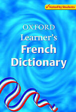 Oxford Learner's French Dictionary,GOOD Book