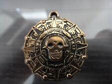 Disney Pirates of The Caribbean, Cursed Aztec Coin , Solid Metal, retro bronze