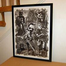 Slipknot, Corey Taylor, Joey Jordison, Sid Wilson, Metal, 18x24 POSTER w/COA
