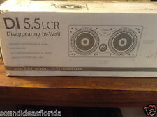 Definitive Technology DI 5.5 LCR in-wall or in-ceiling surround speaker