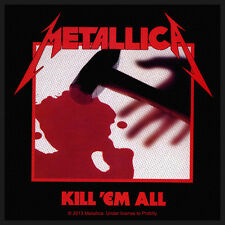 Metallica - Kill 'Em All Patch Aufnäher Speed Thrash Metal Heavy Kutte Kult NEU