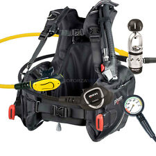 DIVING EQUIPMENT PACKAGE MARES BCD PRIME SIZE MEDIUM MR12s INSTINCT REGULATOR