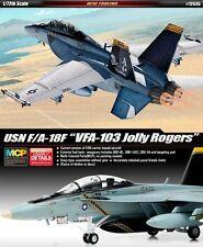 """Academy F/A-18F USN """"VF-103 JOLLY ROGERS"""" 1:72 Academy 12535"""