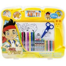 OFFICIAL DISNEY JAKE AND THE NEVER LAND PIRATES ACTIVITY DESK + ACCESSORIES