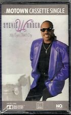 MY EYES DON'T CRY [Single] by STEVIE WONDER (Cassette 1988 Motown) NEW SEALED!