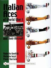 Book - Italian Aces of World War I and their Aircraft