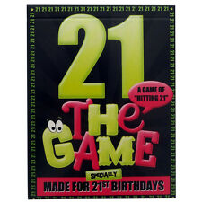 The 21st Birthday Game. Fun for 21sts! FREE GIFT WRAP SHEET. Great present idea