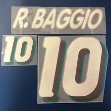 italia kit BAGGIO bianco Nameset maglia calcio diadora usa 94