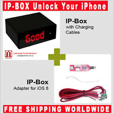 IP-Box with Charging Cables and iOS8 Adapter ( iPhone Password Unlocking Tool )