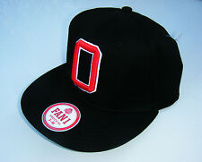 OHIO STATE BUCKEYES FOOTBALL Woody Hayes Style Stretch Fit Baseball Hat S/M NWT