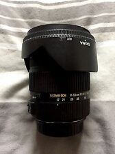Sigma EX HSM OS DC 17-50mm F/2.8 Lens for Canon